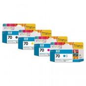 HP 70 130 ml Yellow